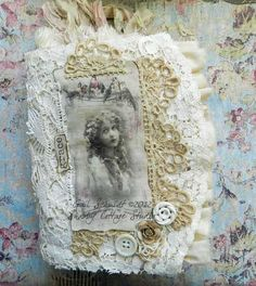 Shabby Cottage Studio - follow link back to see the rest of this beautiful journal.