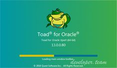 Toad for Oracle 2018 Edition Toad for Oracle is a database development and management toolset that reduces the time and effort developers and DBAs spend on daily tasks. Oracle Sql, Pl Sql, Oracle Database, Toad, Project Management, Vulnerability, Coding, Effort, Key