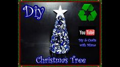 Diy.How to make a Christmas tree recycling. Diy & Crafts With Mirna