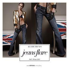 Dica de Estilo / Jeans Flare