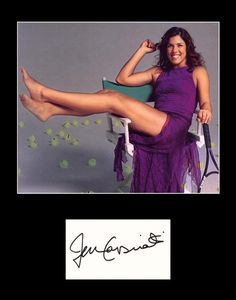 Rare Collectible Tennis Star Jennifer Capriati Signed Autograph and Photo