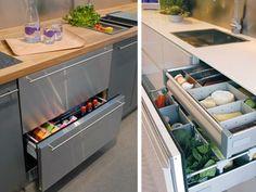 Share on Facebook Share on Twitter Moderne keukens maken uitgebreid gebruik van lades. Waarom niet een koelkast in de vorm van een lade ontwerpen, dacht het Noorse koelkastmerk Norcool. Een traditionele koelkast past soms niet voor alle keukens. Norcool brengt daarom al langer zogenaamde Corner Fridges op de markt. Dat zijn grote koelkasten die in