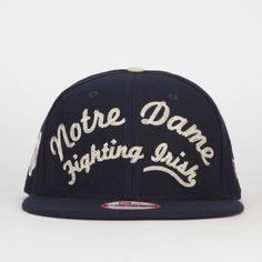 NEW ERA Arch Notre Dame Mens Strapback Hat 218767211 | Strapbacks | Tillys.com