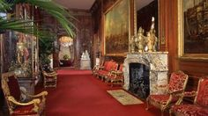 The East Gallery at Waddesdon Manor, Buckinghamshire (good inspiration for a room in Neil's house)