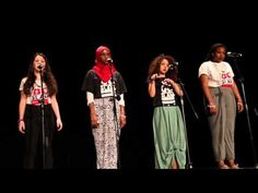 Watch These 4 Girls Destroy The Female Stereotype Like The Monsters They Are. Poetry Grand Slam--BNV 2013 Finals Round - Washington D C