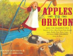 Great book for teaching tall tales, figurative language, and the Oregon Trail. Follow the link for some discussion questions.
