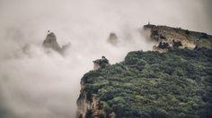 Fog on Ai-Petri - null