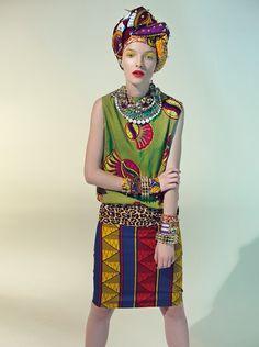 Kanga and West African prints