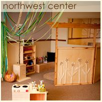 NW Center Photo Gallery from childroots center.  I love this little dramatic play area