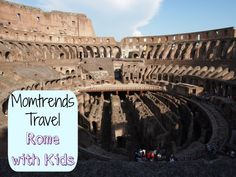 Ideas for kids in Rome - thought of you @Brooke Wamanga!