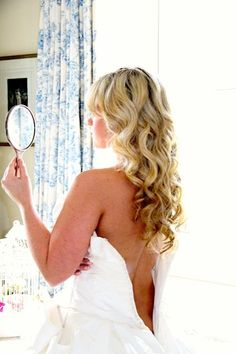 Model: Francesca  Dress: Ian Stuart  Hair: Tuc Le Rojas    Just Gorgeous Hair