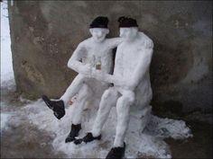 """Zima už je za dveřmi. """"Two snowmen"""" :)"""