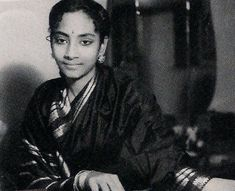 """""""Geeta (Roy) Dutt may have had the sketchiest of training, but she succeeded as a singer because she knew that playback singing is not so much about technique as it is about taking the listener along into the world of feelings. Bengali Song, Film Song, Film Genres, Indian Music, Skylark, Antara, Creative Outlet, Singing"""