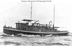 Moran has been around for ever. My husband is the 4th generation to work on tugs
