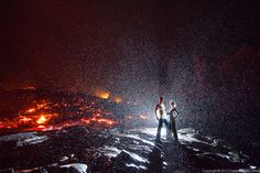 So, This One Time We Hiked To Lava… | Dallas Nagata White