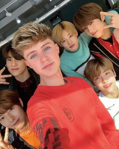 was nice to meet you boys 🇰🇷 Nct Dream with HRVY Nct U Members, Nct Dream Members, Nct 127, Taeyong, Jaehyun, Kpop, Ntc Dream, Nct Dream Chenle, Nct Album