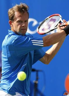 My favorite tennis player of all time....Stefan Edberg