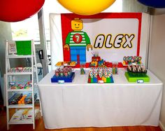 Colourful and fun Lego Birthday Party Ideas | Photo 21 of 34 | Catch My Party