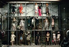 Highlights from Marc Jacobs's Work at Louis Vuitton Photographed for the January Issue of Vogue by Annie Leibovitz