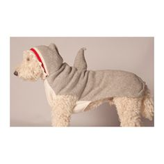 Want this for my puppy brother! Chilly Dog Shark Hoodie Knit Dog Sweater - Pet360