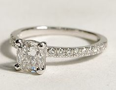 really pretty promise ring :)  I swear my cousin just got this exact ring from her boyfriend.
