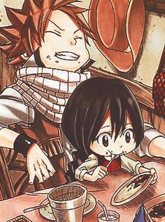 Awww! Would you look at this two! ^o^ Natsu has always have a soft spot for kids…