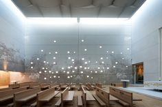 <b>Ospedale Giovanni XXIII:  Inspired by the Garden of Eden</b>  Construction of an exceptionally beautiful new church featuring graphic concrete elements was completed this June in Bergamo, Italy.…