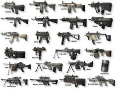 T|pG Clanseite[MW2] - Alle Mw2 Waffen