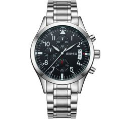 SHARE & Get it FREE | GIMTO Men sports Watches Business quartz-watch Men steel band waterproof Quartz Clock Auto Date Multifunction WatchesFor Fashion Lovers only:80,000+ Items • New Arrivals Daily • Affordable Casual to Chic for Every Occasion Join Sammydress: Get YOUR $50 NOW!