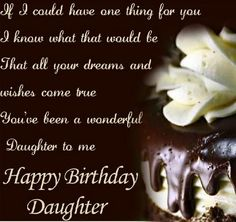 Best Happy Birthday Quotes for a daughter with images are given here. We designed amazing Birthday wishes for daughter from mom and dad. Best greeting wishes for parents. Blessed Birthday Wishes, Birthday Wishes For Nephew, Nephew Birthday Quotes, Happy Birthday Nephew, Best Birthday Quotes, Birthday Greetings, Daughter Birthday, Birthday Cards, Birthday Message