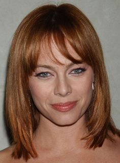 longer bob haircuts with bangs - Google Search