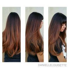 Warm Fall Color Melt @daniellelouisette Warm Autumn, Fall, Caramel Balayage, Color Melting, Balayage Hair, Hair Ideas, Black Hair, Long Hair Styles, Image