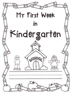 I LOVE KINDERGARTEN! I have only 'officially' taught kindergarten for 3 years, but prior to that taught pre-k (not much different a. Kindergarten First Week, Kindergarten Activities, Kindergarten Assessment, September Activities, Kindergarten Rocks, Spring Activities, Sensory Activities, Kindergarten Schedule, Kindergarten Writing