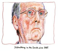 Mitch McConnell - Filibustering the Senate since 1985