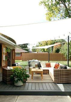 Uberlegen Patio Sun Shade Ideas Easy Sun Shade Ideas For Your Backyard Or Patio  Exterior Sun Shade