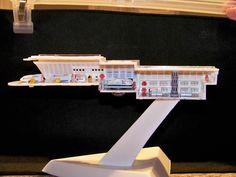 Enterprise Model, Uss Enterprise, Star Trek Toys, Star Trek Models, Star Trek Merchandise, Star Trek Starships, Star Trek Ships, Deck Plans, Exeter
