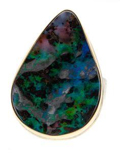 NEWTWIST   Boulder Opal Ring   $1,585.00 USD   #BoulderOpal