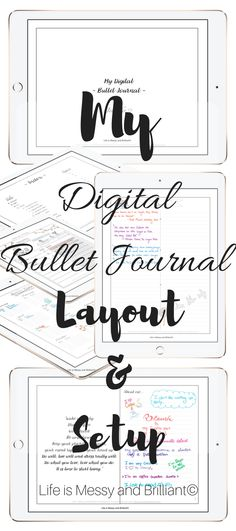 Hello there! I have been working on my digital bullet journal since last year. Over