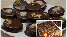 Kakaové kolieska s čokoládou a Salkom: Dokonalé koláčiky (nielen) na sviatočný stôl – u nás idú viac, ako linecké! Christmas Sweets, Christmas Baking, Christmas Time, Amazing Cakes, Chocolate Cake, Pudding, Cookies, Desserts, Recipes