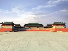 The largest royal palace in the history of mankind, the Chinese Tang Dynasty Daming Palace