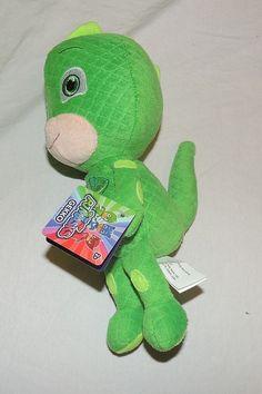 New PJ Masks Plush Toy Stuffed Animal Disney Junior Gekko Gecko Green #Disney