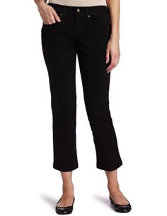 Jones New York Women's Petite 5 Pocket Jean, Black, 2P buy at http://www.amazon.com/dp/B006OVEDM0/?tag=bh67-20