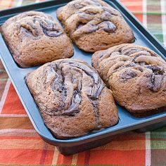 Pumpkin Nutella bread. Can you say heaven? I'm so ready for Fall!
