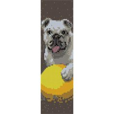 Why Rottweilers are great companions Seed Bead Patterns, Beading Patterns, Stitch Patterns, Bead Loom Designs, Alpha Patterns, Peyote Stitch, Cross Stitch, Beaded Animals, Loom Bracelets