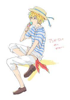Free! ~~ Ice Creamy Kind of a Day :: Hazuki Nagisa