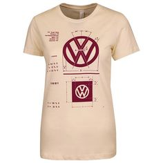 Ladies' VW Logo Specifications T-Shirt