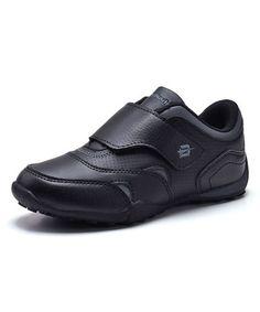Look at this #zulilyfind! Black Strap Sneaker #zulilyfinds