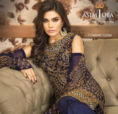 Asim Jofa Collection Mysorie Chiffon 2017 New Arrival