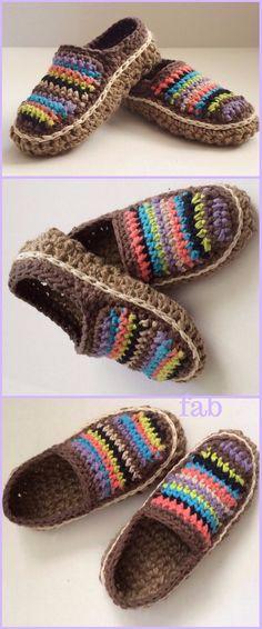 67 Ideas Crochet Shoes Adult For 2019 Crochet Gifts, Diy Crochet, Hand Crochet, Crochet Bag Tutorials, Crochet Patterns For Beginners, Crochet Shoes, Crochet Slippers, Ravelry Crochet, Shoe Pattern