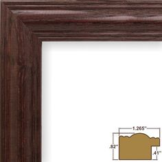 Craig Frames 440CH 24 by 36Inch Picture Frame Wood Grain Finish 1265Inch Wide Cherry Red *** You can find more details by visiting the image link.(It is Amazon affiliate link) #75likes